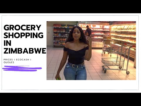 COME GROCERY SHOPPING WITH ME IN ZIMBABWE | Prices, Ecocash | Zimbabwean Youtuber
