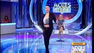 Fiica lui Adi Minune canta la Acces Direct