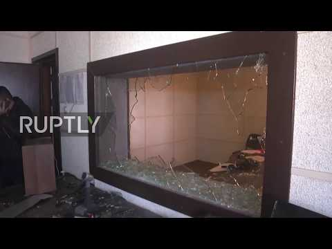 State of Palestine: Armed assailants trash state media offices in Gaza