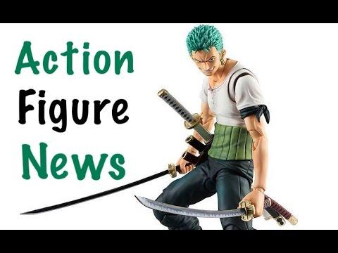 Action Figure News #110 Tamashii Nations World Tour SHF SS3 GOKU VAH ZORO SHF MADARA & More!