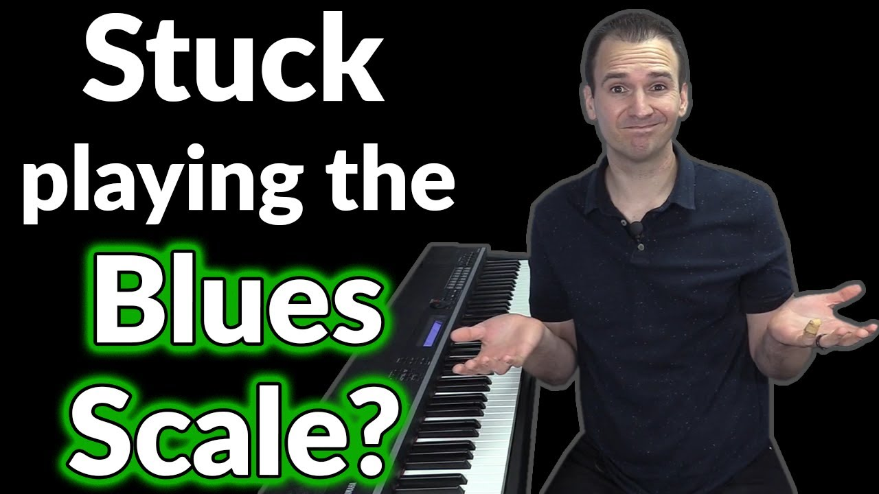 Use These JAZZ SCALES in Your Blues Piano Solo