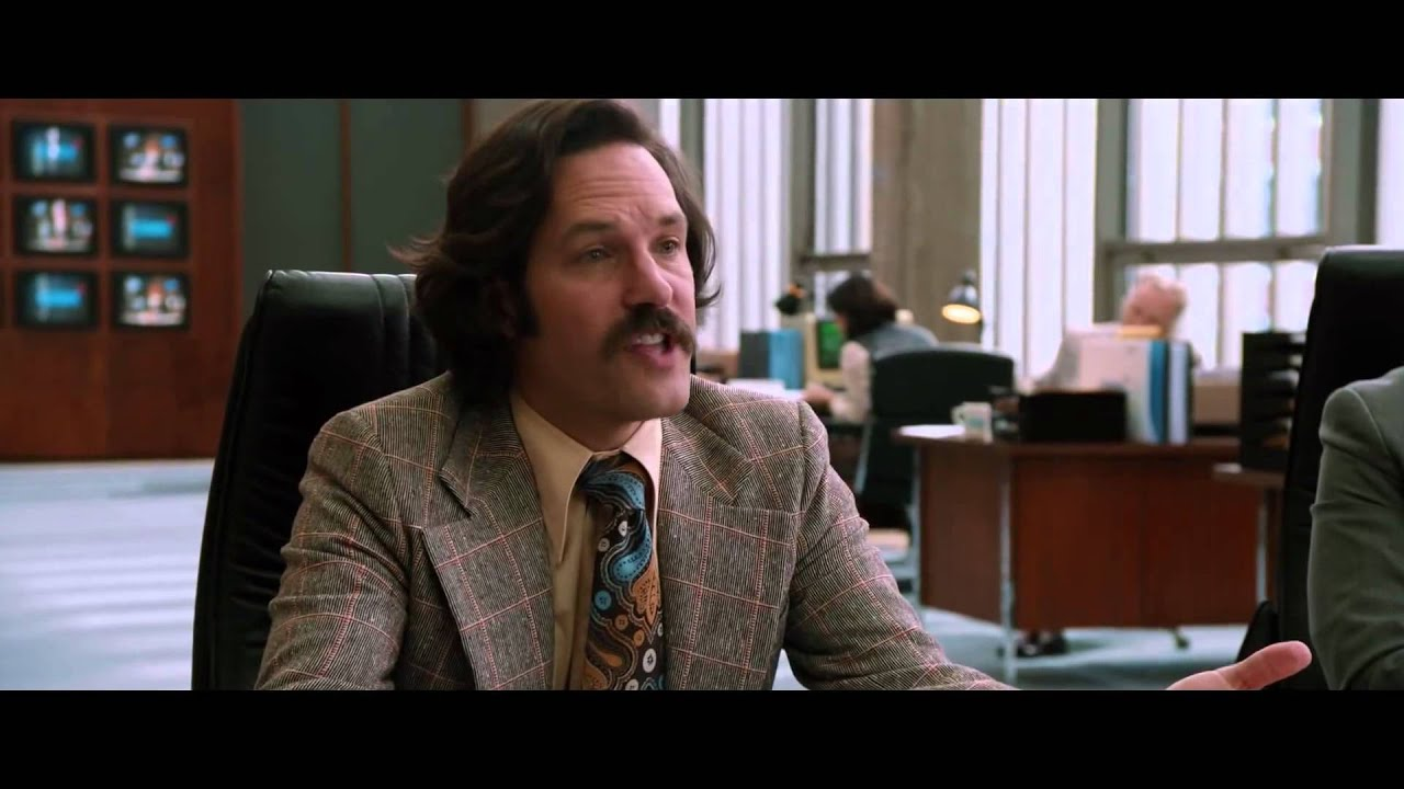 Download ANCHORMAN 2  THE LEGEND CONTINUES   Official Clip    News Ideas    UK