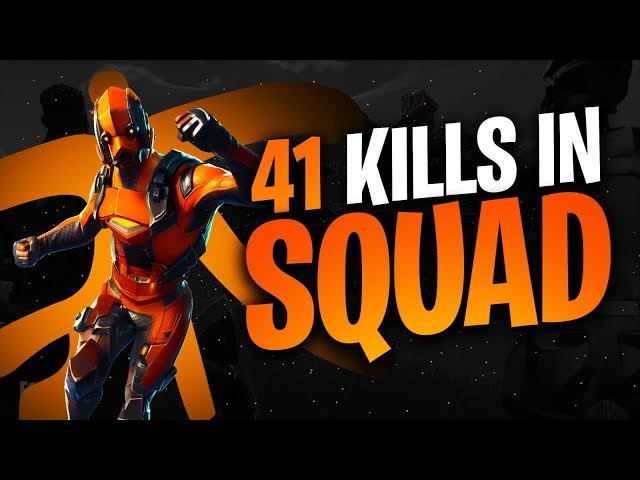 41 SQUAD KILLS WITH FNATIC TEAM! | Fortnite Battle Royale