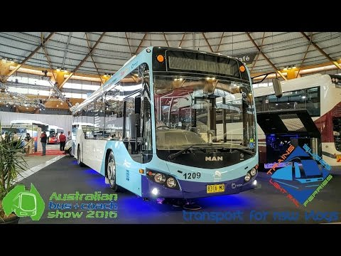 Transport for NSW Vlog No.1063 2016 Australian Bus & Coach Show