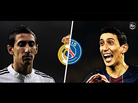 Di Maria in Real Madrid vs Di Maria in PSG | HD