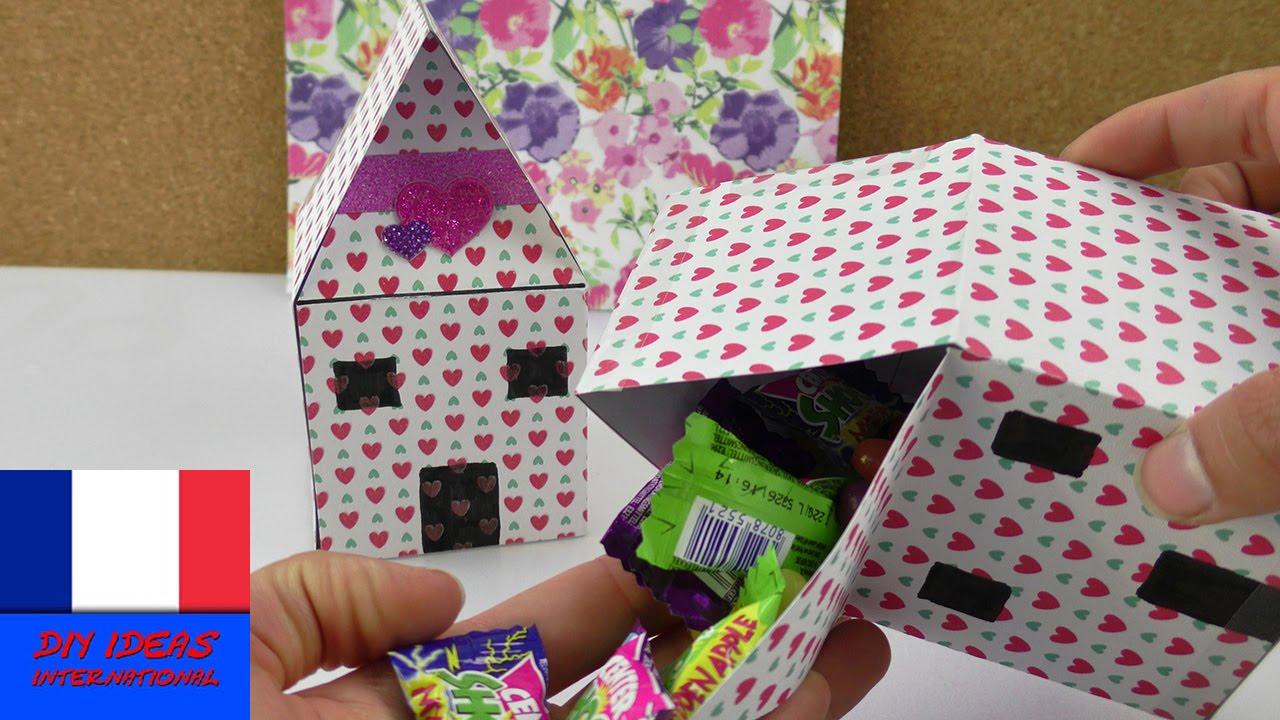 diy emballage cadeau maison fabriquer soi m me et remplir avec des bonbons youtube. Black Bedroom Furniture Sets. Home Design Ideas