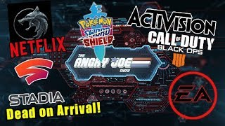 AJS News Activision EXPOSED, Google Stadia D.O.A, Black Ops LIES, Witcher Netflix Reveal!