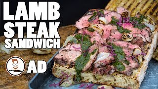 LAMB STEAK SANDWICH | with Adam Waithe