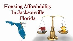Housing Affordability In Jacksonville Florida July 2018