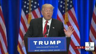 Donald Trump's Full Anti Hillary Clinton Speech in NYC - Wednesday 22 june 2016
