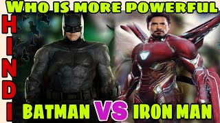 Batman vs Iron man | Bruce Wayne vs Tony Stark ,who is more powerful | Hindi CAPTAIN HEMANT