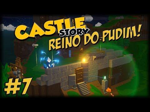 Castle Story 1.0 - O Reino do Pudim - Ep 7 - Arqueiros, Wards e Muro!!