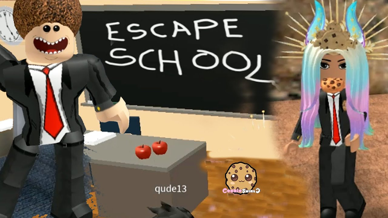 Principal For The Day  ! Roblox High School + Escape Obby Video Game