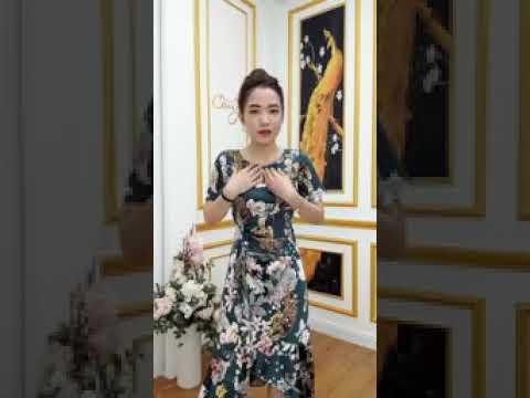 🔴 0888 813 123 CAMY  ĐẦM THIẾT KẾ  2021 Đầm Đẹp Cho Quý Cô Trung Niên - Bộ Sưu TậP ThờI Trang Hè