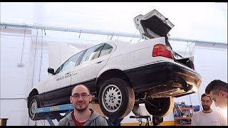 NUEVO ESCAPE PARA NUESTRO BMW 320i E36 DE 300€... SUENA DURISIMO!! II ROPEBU