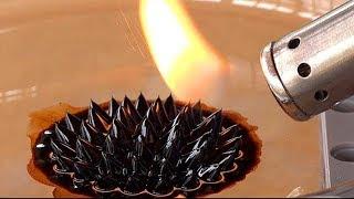 Ferrofluido + FUEGO