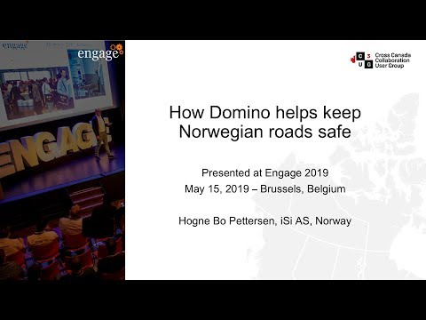 How Domino Helps Keep Norwegian Roads Safe