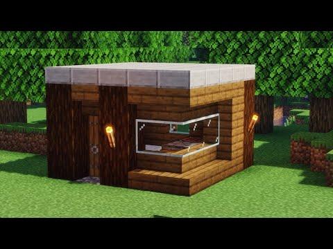 ✔ Como hacer una CASA para PRIMER DIA de Survival en Minecraft