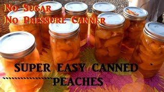 How to can peaches. Starry shows you her peach canning method with ...