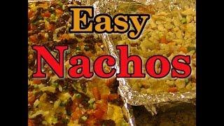 Easy Homemade Nachos (chicken And Ground Beef)