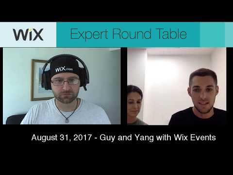 Wix Events and Tickets - Expert Round Table S01E01!
