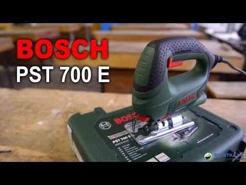 Видео обзор: Лобзик BOSCH PST 700 E