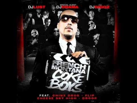 French Montana - Coke Boys - 18. money weed blow FT. Three-6-mafia