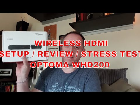 Optoma WHD200 Wireless HDMI Review -
