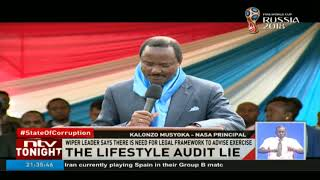 DP William Ruto says he is ready to submit his name for  lifestyle audit