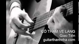 CÔ THẤM VỀ LÀNG - Guitar Solo