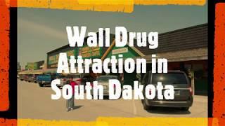 South Dakota Wall Drug Tourist Roadside Attraction