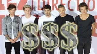 Which One Direction Member Makes The Most Money!?