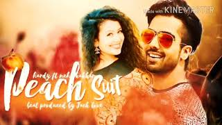 Peach  suit _/___/hardy  _sandhu ~&Neha kakkar New