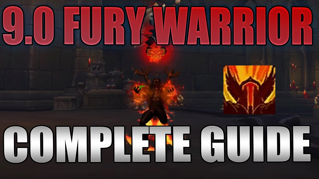 Shadowlands 9 0 Fury Warrior Pve Dps Guide Gear Talents Covenant Etc Youtube