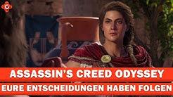 Eure Entscheidungen haben Konsequenzen in Assassin's Creed Odyssey | EXKLUSIV