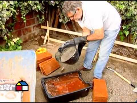 C mo construir una jardinera y suelo de ladrillos primera Construir una pileta de ladrillos