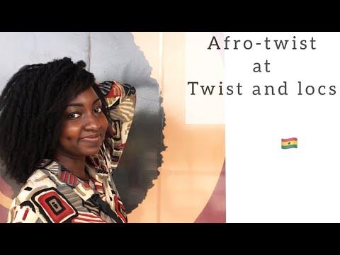 Natural hair salon visit// Twistnlocs// Accra// Konayyy