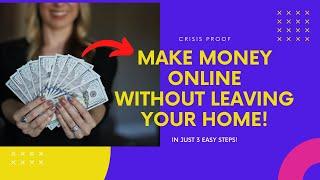 Make money online 2020 - crisis proof ...