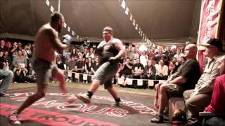 Boom! Boom Butterbean! Brophy Tent Fight  BRAWL Burnett Heads 2015