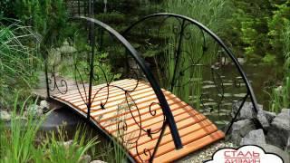 Красивая кованая мебель видео от ООО