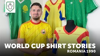 World Cup Shirt Stories: Romania 1990