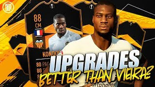 BETTER THAN VIEIRA!?!? UPGRADES!!! - FIFA 19 Ultimate Team thumbnail