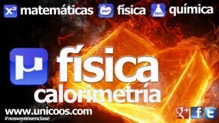 fisica calorimetria 02 secundaria 4ºeso calor fusion vaporizacion termodinamica