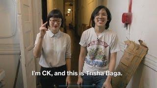Trisha Baga Studio Visit | Video in American Sign Language