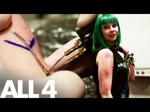 Branding Viking Runes On Your Skin - Scarification Tattoos | Body Mods