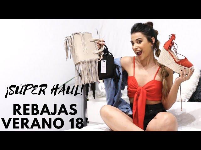 SÚPER HAUL DE REBAJAS, VERANO 2018. Zara, Pull&Bear, Bershka...