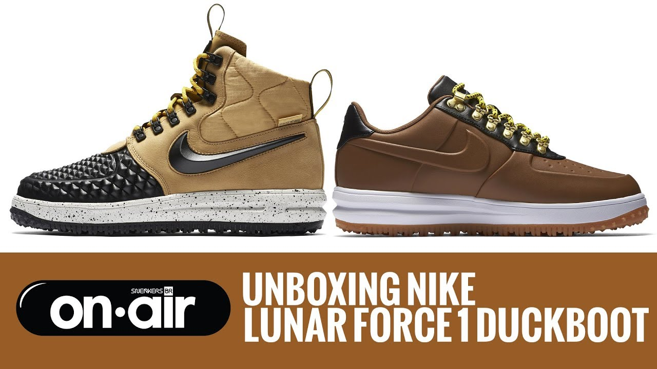 3d7d0732a212 SBROnAIR Vol. 34 - Unboxing Nike Lunar Force 1 DuckBoot ...