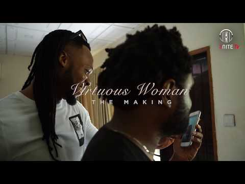 Flavour - Virtuous Woman [Behind the scenes studio recording]