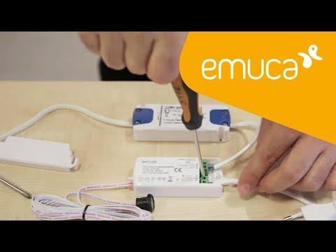 Cómo conectar un sensor RED EYE a una o varias luminarias LED - Emuca