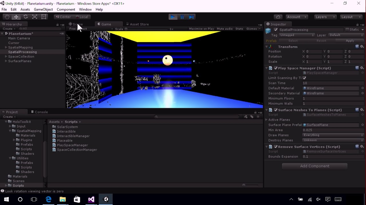 MR Spatial 230 - Spatial mapping - Mixed Reality   Microsoft